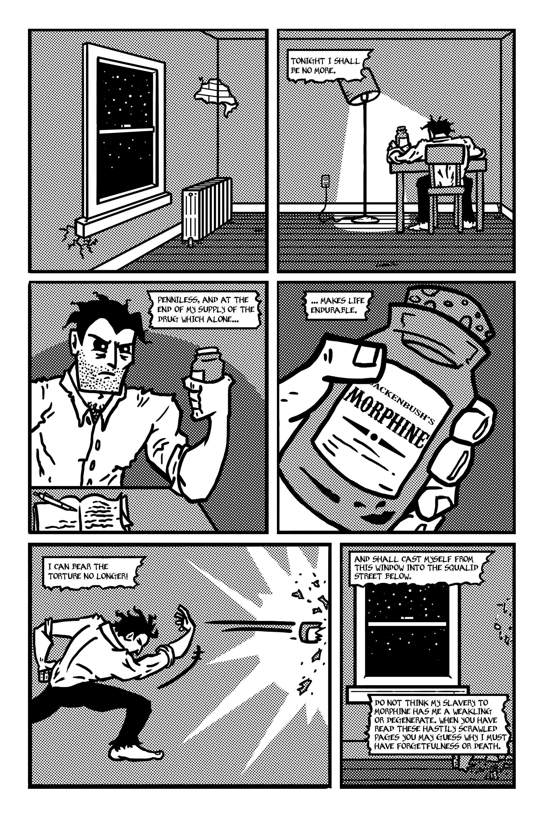 Annex Comics Lovecraft Collaboration Page 1 Nico Ecenarro